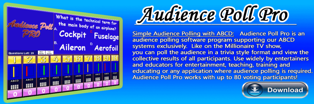 Audience Polling Software