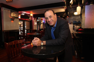 TO THE 'RESCUE': Bar and restaurant consultant Jon Taffer works with two Framingham bars, Angry Ham's Garage and the Chicken Bone, for his show 'Bar Rescue.'