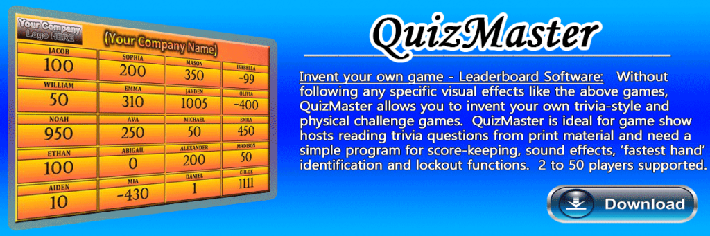 QuizMaster - Invent your own game