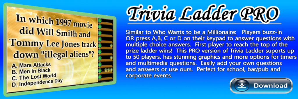 Trivia-Ladder-Pro Trivia Game