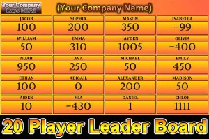 20-Player-Leader-board-Software