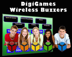 wireless buzzers Jeopardy